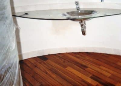 pont de bateau salle de bain